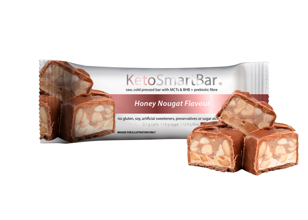 Keto Smart Bar - Honey Nougat