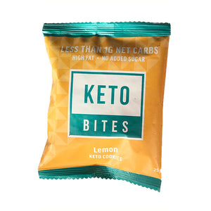 Keto Bites Cookies - Lemon