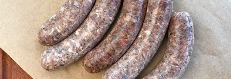 Sausages - Lamb Rosemary (Frozen)