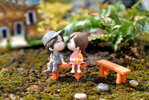Couple Doll Figurine