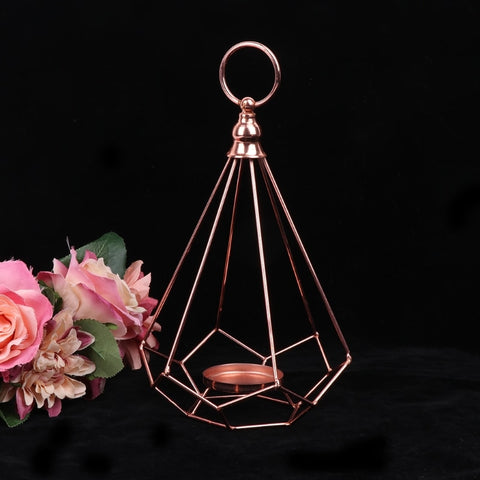 Diamond Shaped Candle Holder