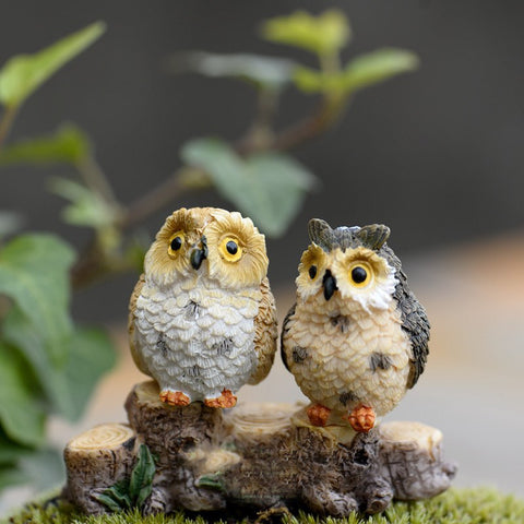 Cute Owl Figurine