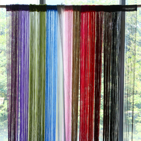 Thread Curtains for Living Room