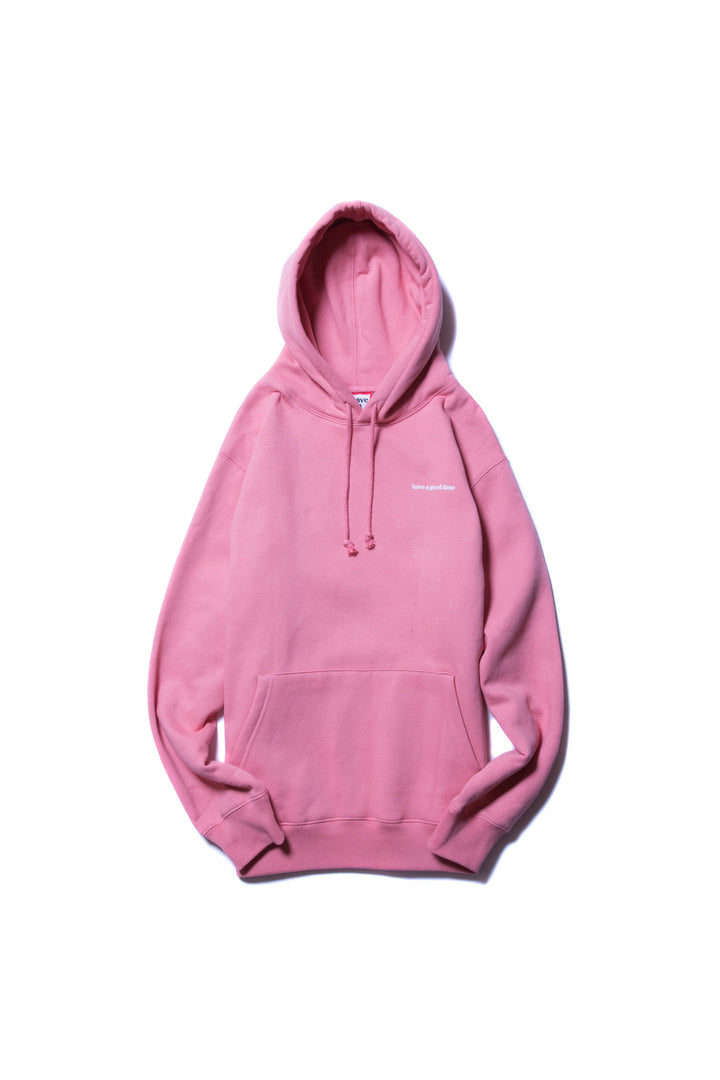 Why Its Good To Pull Over To Side Of >> Side Logo Pullover Hoodie Indie Pink Have A Good Time