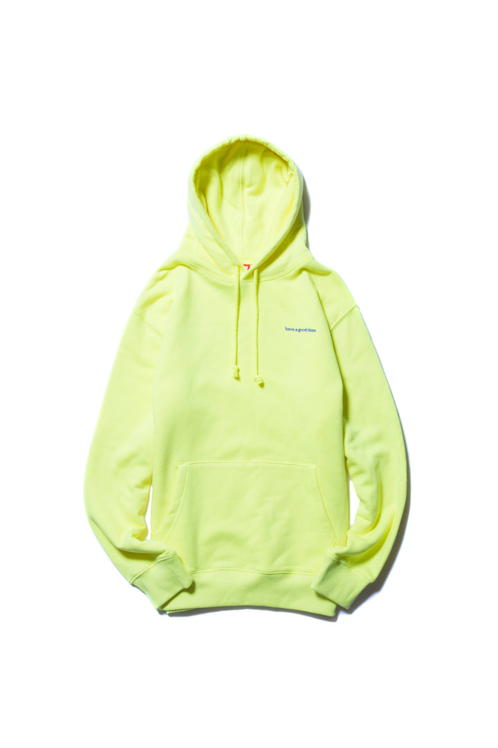 Why Its Good To Pull Over To Side Of >> Side Logo Pullover Hoodie Neon Green Have A Good Time