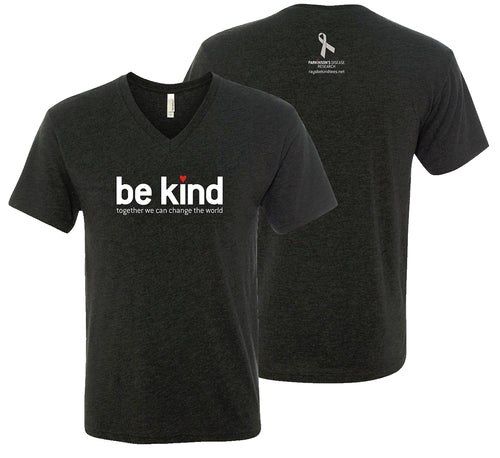 Ray's Be Kind Black V-neck