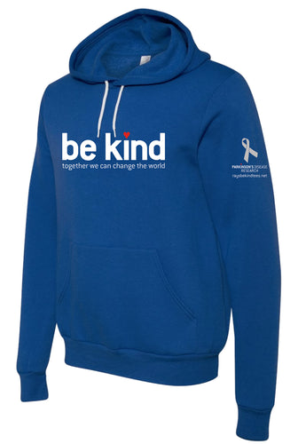 Ray's Be Kind Blue Hoodie