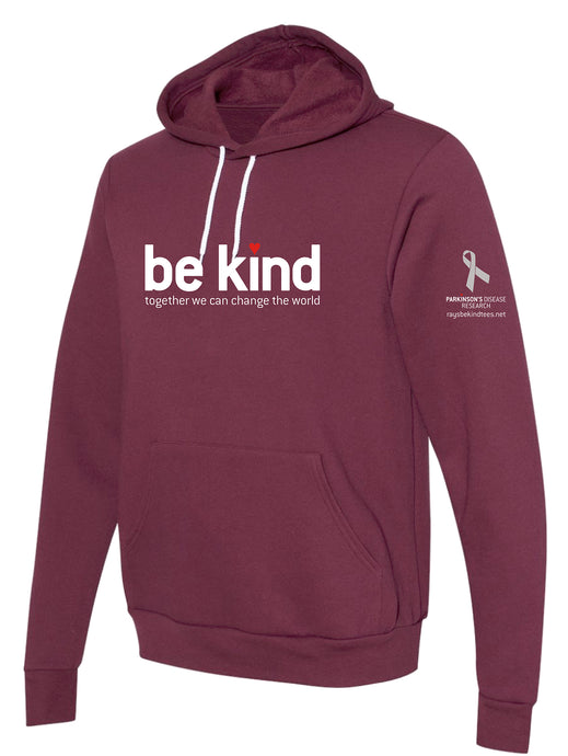 Ray's Be Kind Burgundy Hoodie