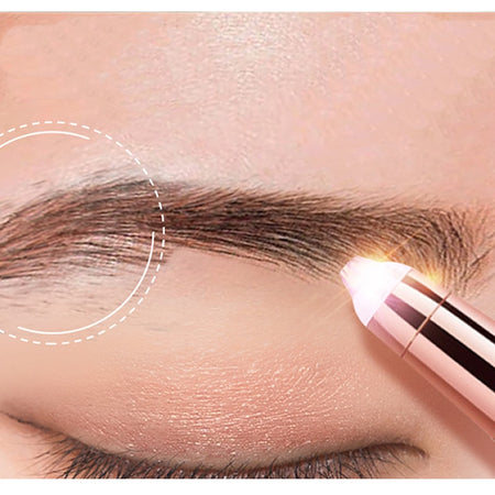 SlyBrows Painless Electric Eyebrow Trimmer and Hair Remover for Women - GadgetEmporio.com