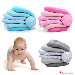 Adjustable Breastfeeding Baby Pillow for Comfortable Nursing - adapts as Baby Grows for Easy Infant Nursing