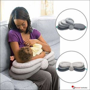 Adjustable Breastfeeding Baby Pillow for Comfortable Nursing - adapts as Baby Grows - GadgetEmporio.com