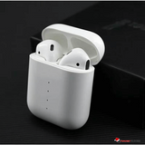 AIRE 2 Wireless Bluetooth 5.0 Ear-Pods w Pop-up Connect Voice Act In-Ear Play Wireless Charging
