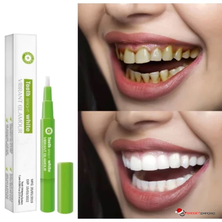 Gadgetemporio Com Amazing Teeth Whitening Pen With Cleaning