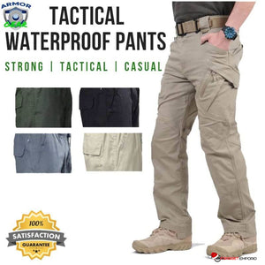 ARMOR GEAR TACTICAL Amazing Military Grade, Waterproof, Uncutable Extreme Durability Cargo Pants - GadgetEmporio.com