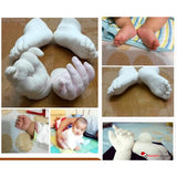 Baby 3D Hand & Footprint Casting Kit with Paint - Great Keepsake Gift for Baby Shower - GadgetEmporio.com