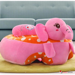 COMFY BABY COLORFUL PLUSH ANIMAL INFANT SUPPORT SOFA SITTING CHAIR FOR FEEDING & LEISURE