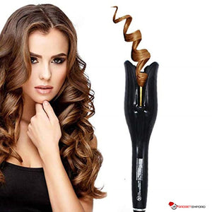 Dream Curls Professional Auto Rotating Hair Curling Wand - gives Instant Salon Hair Curls - GadgetEmporio.com