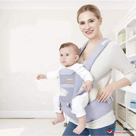 Ergonomic Baby Carrier, Front & Back Baby Sling and Infant Wrap 0-36 Months 4 Positions - GadgetEmporio.com