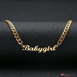 FLASH SALE - Personalized Custom Name Necklace - #1 Selling Holiday Jewelry Gift - GadgetEmporio.com