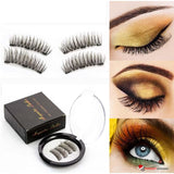 High Quality 3D Magnetic Eyelashes Handmade Lashes with 3 Magnets - includes Gift Box