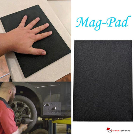Magna-Pad Super Strong Magnetic Pad - Holds Your Tools or any Magnetic Items while Working - GadgetEmporio.com