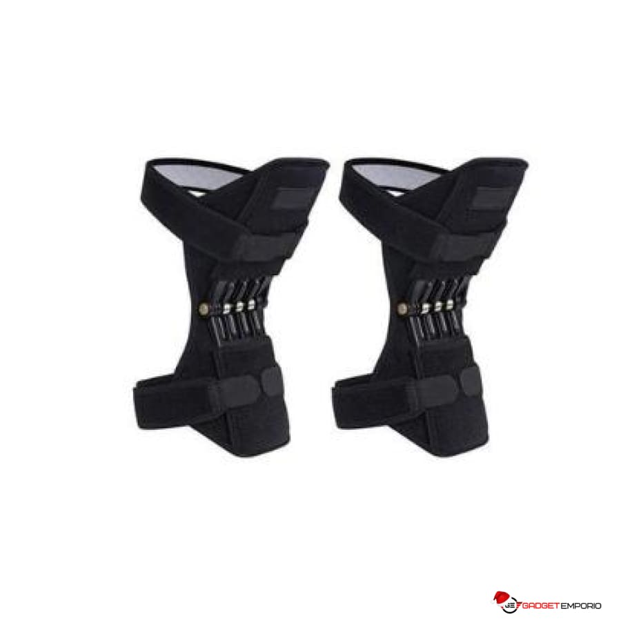 Power Knee Joint Spring Support Stabilizer Pads (1 Pair) - GadgetEmporio.com