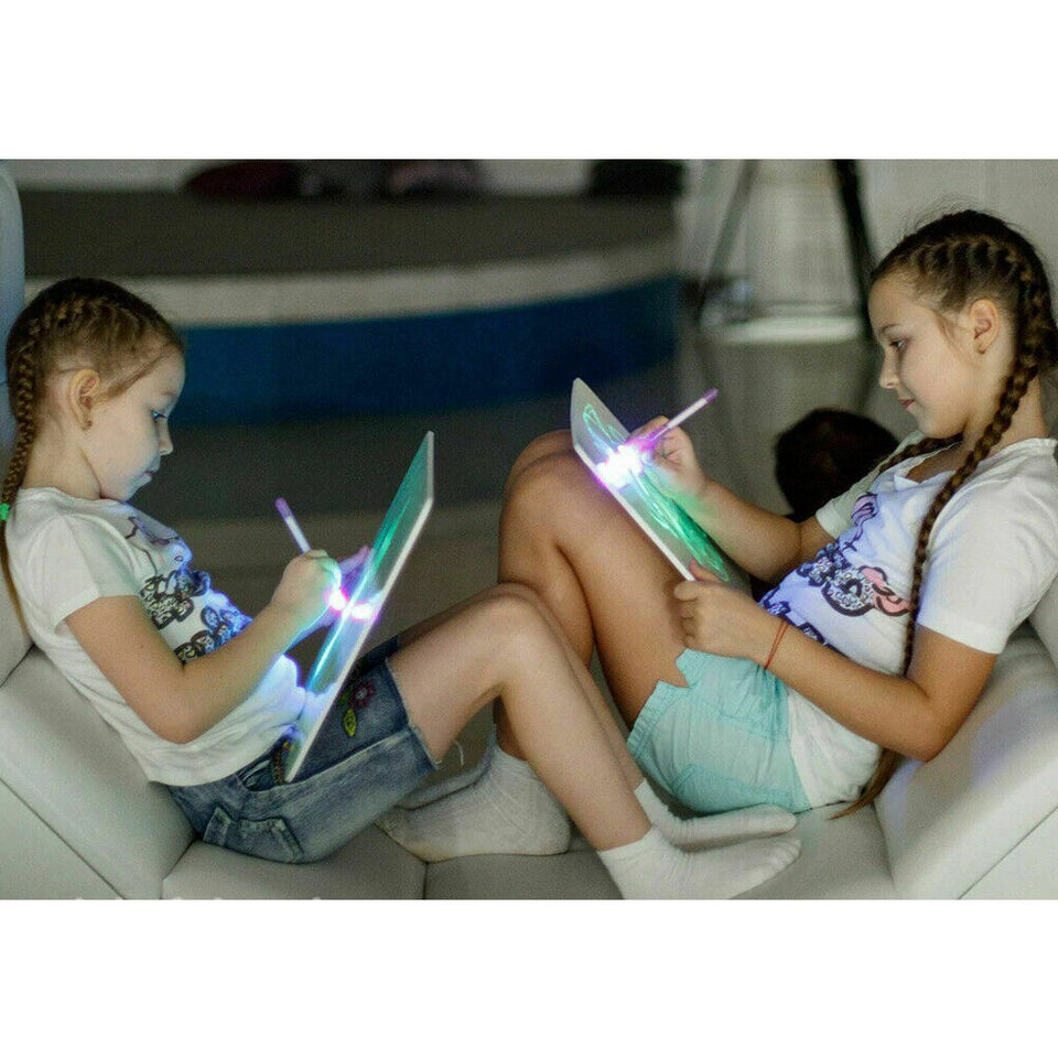 Magic Drawing Light Pad for Children - Draw with Light & Captivate your Child's Imagination! - GadgetEmporio.com