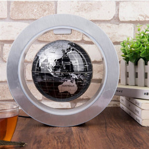 LED Magnetic Levitating Earth Globe Novelty Lamp For Desk, Home or Office - GadgetEmporio.com