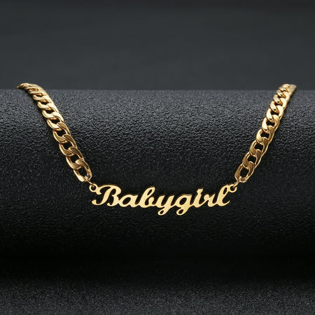 Personalized Custom Name Necklace - #1 Selling Holiday Jewelry Gift - GadgetEmporio.com
