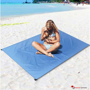 SAND-FREE BEACH BLANKET - NEVER LAY ON A SAND FILLED BEACH BLANKET AGAIN - GadgetEmporio.com