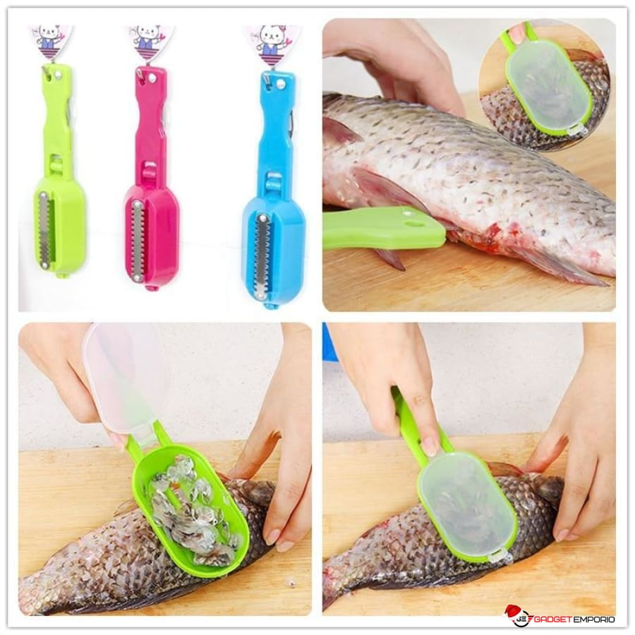 Stainless Steel Fish Scale Skinner - GadgetEmporio.com