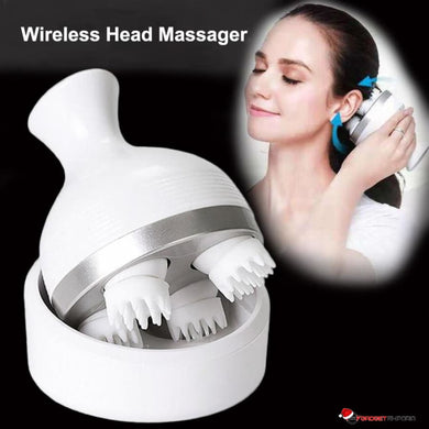 Waterproof Wireless Scalp & Body Massager - Prevent Hair Loss & Enjoy Deep Tissue Massage - GadgetEmporio.com