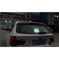 Wireless Voice Activated LED Emoji Display to Communicate with other Drivers (or just look cool!)