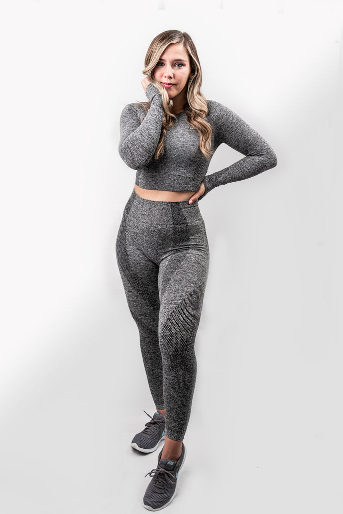 Power Seamless Leggings - Slate