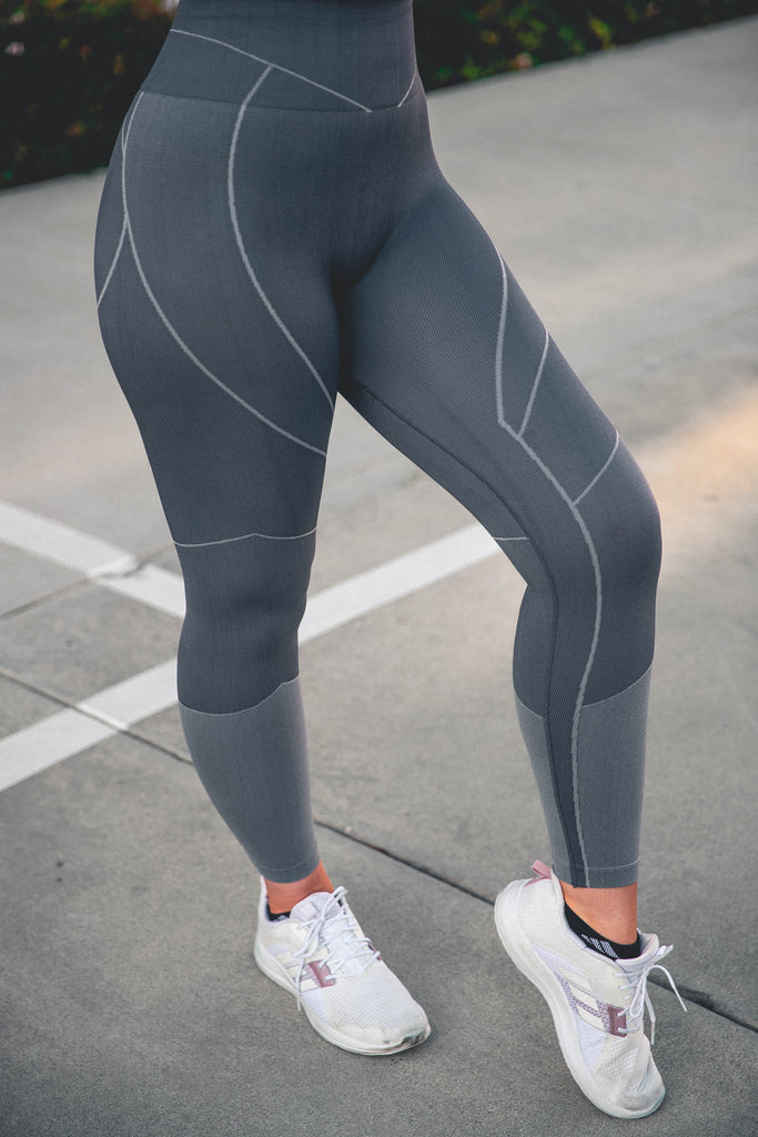 Dynamic Seamless Leggings - Shadow
