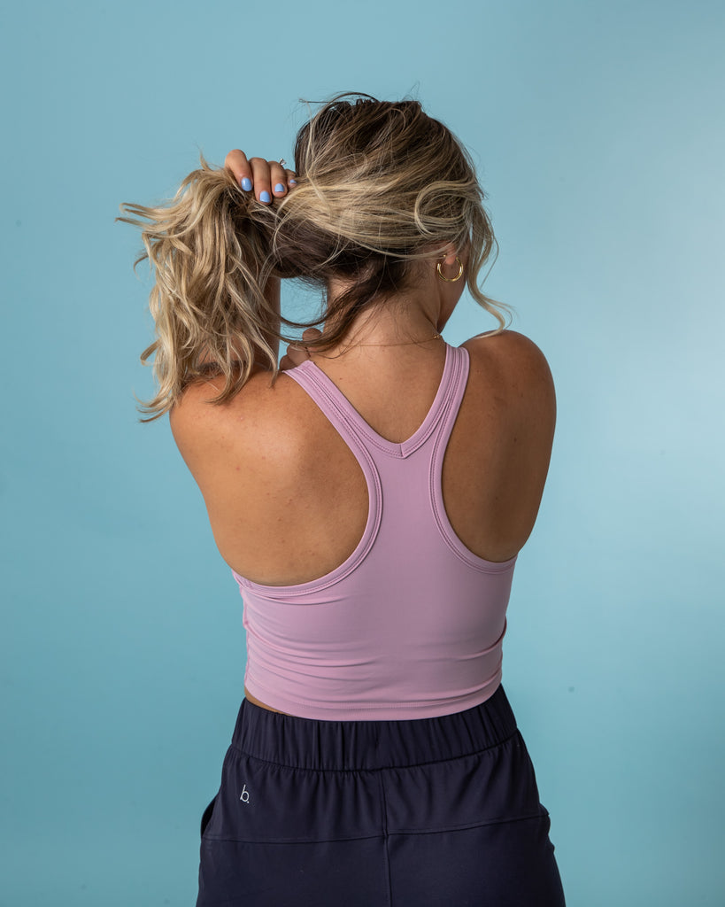 Everyday Racerback Tank - Baby Pink