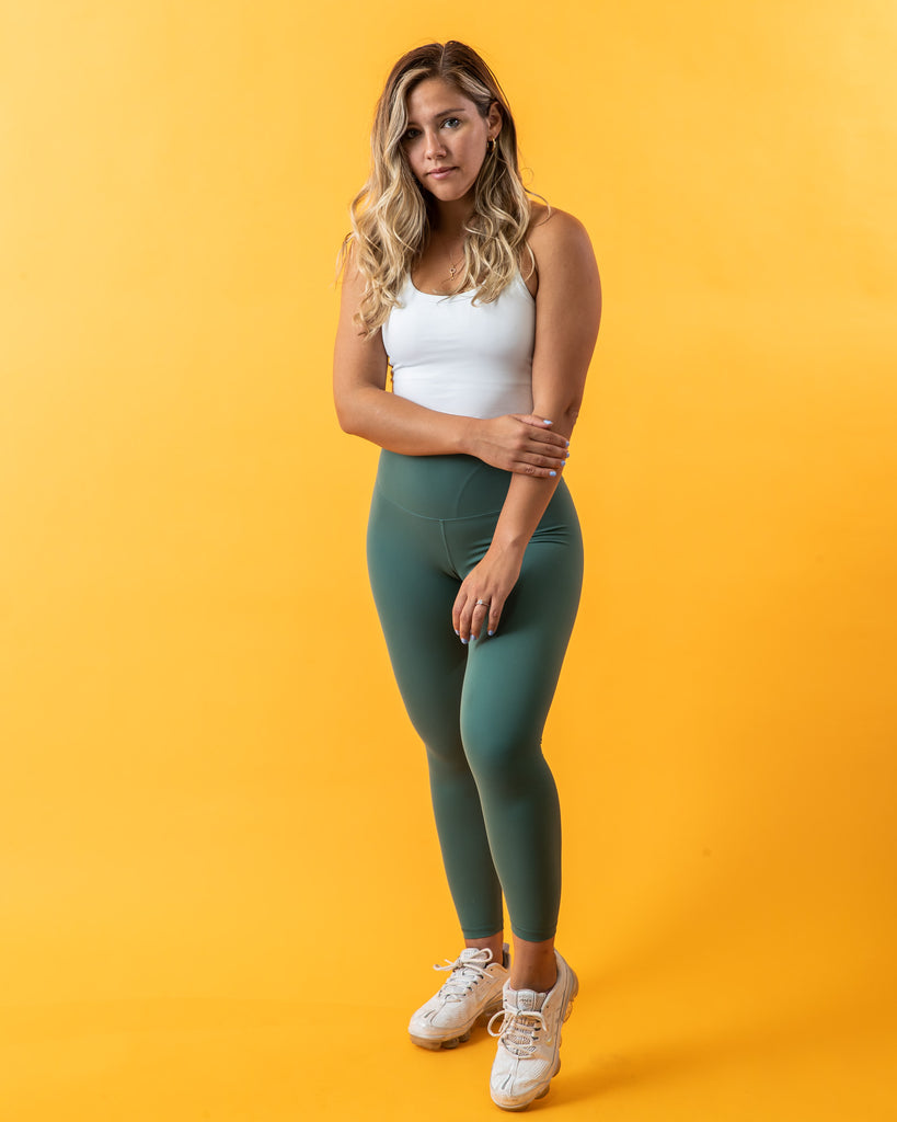 The Lolli Legging - Dark Green