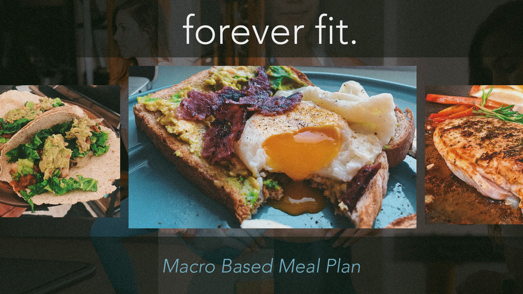Forever Fit Macro Meal Plan