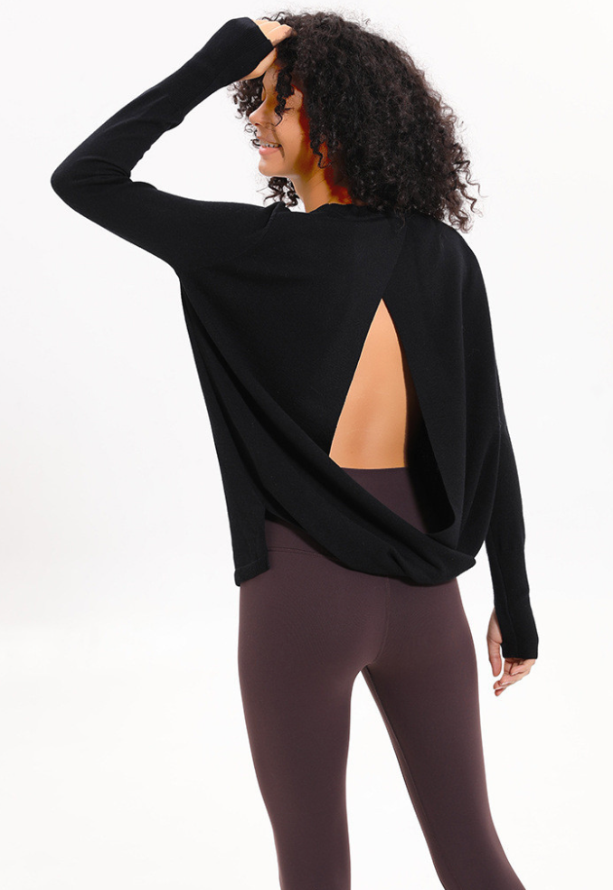 Embrace Sweater - Black