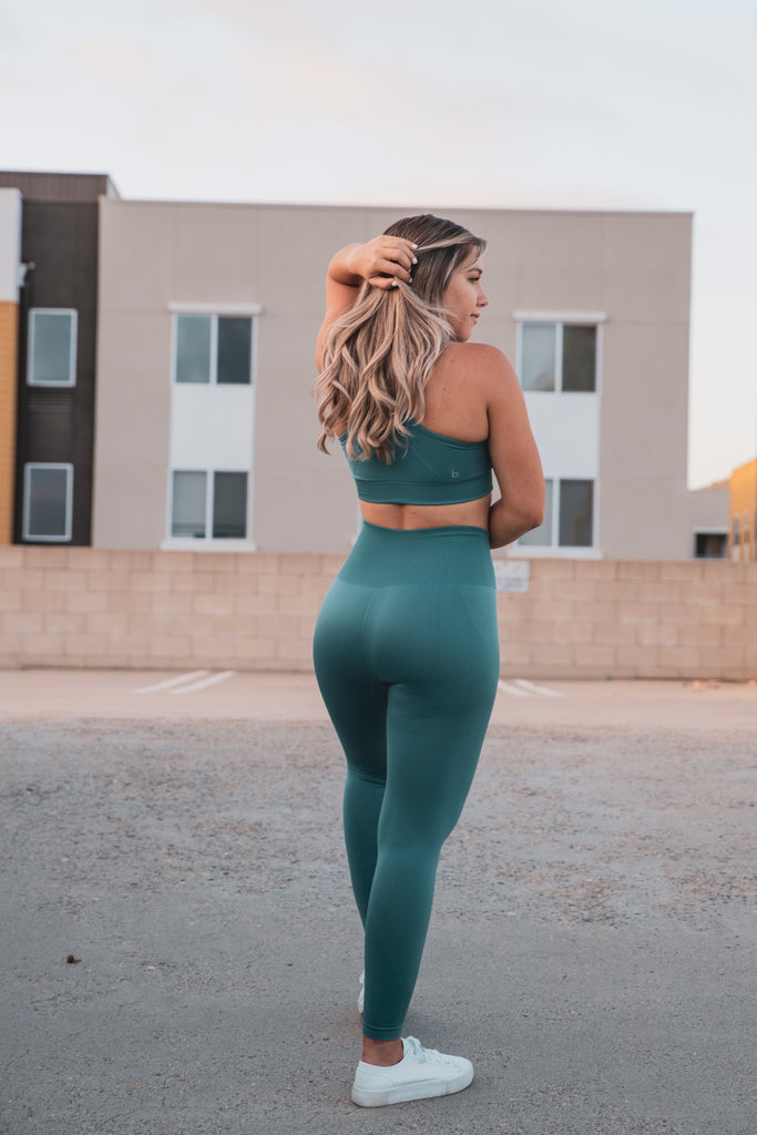 Dream Seamless Leggings - Teal
