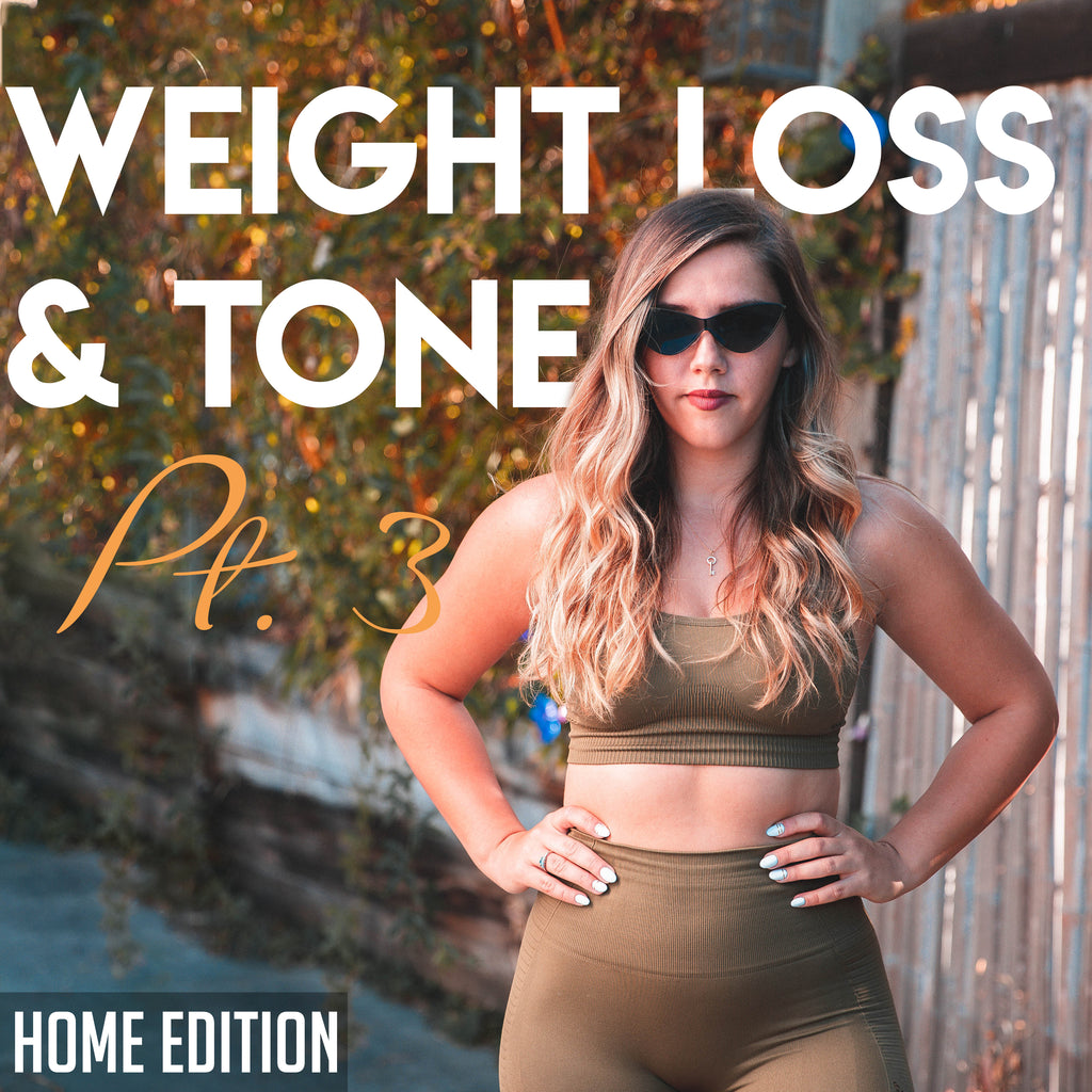 Weight Loss & Tone Pt. 3 *Home Edition*