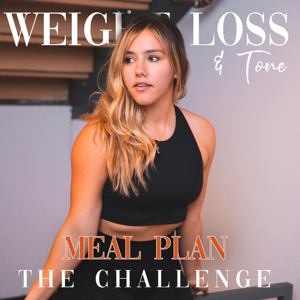 Weight Loss & Tone Challenge: Meal Plan