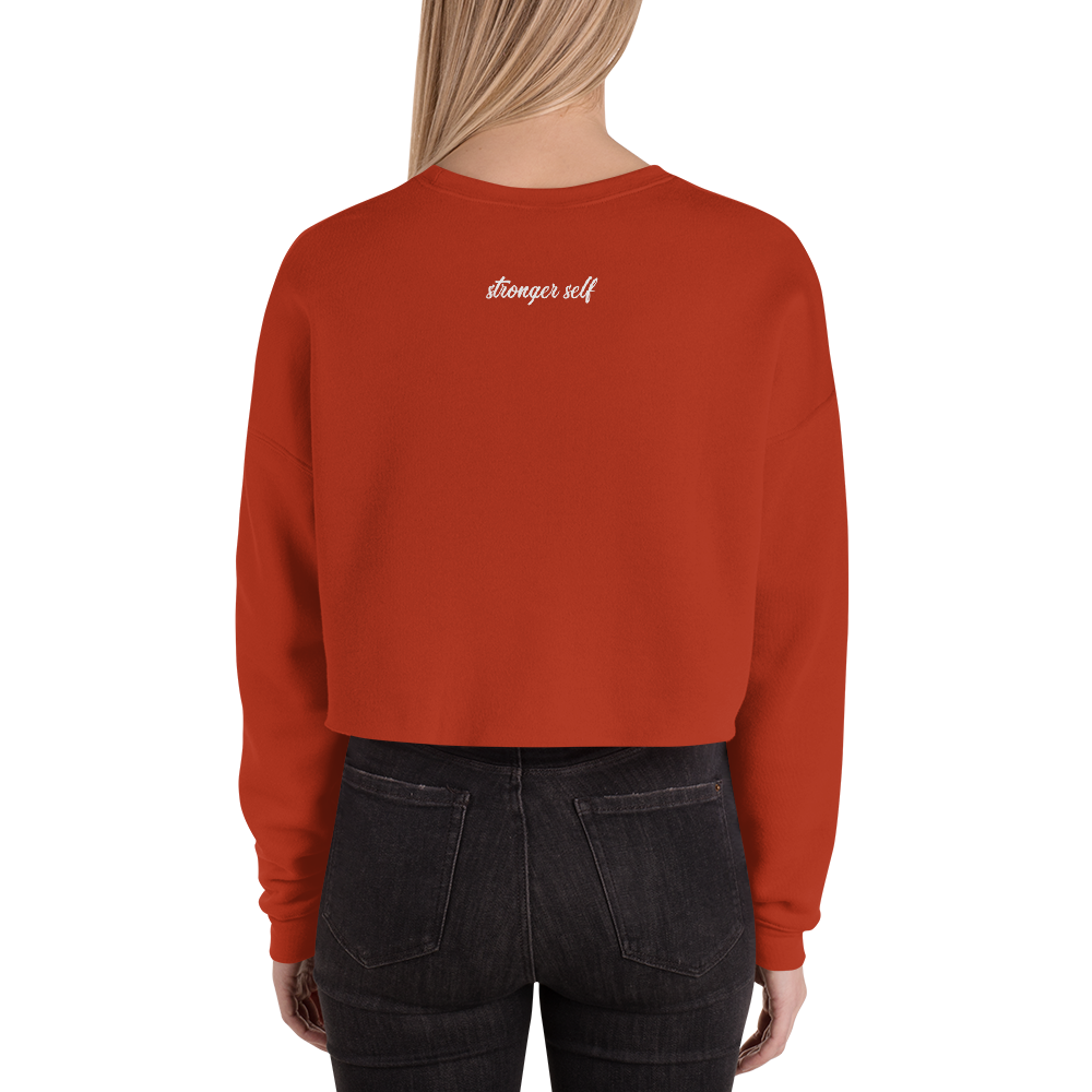 Stronger Self Crop Sweatshirt