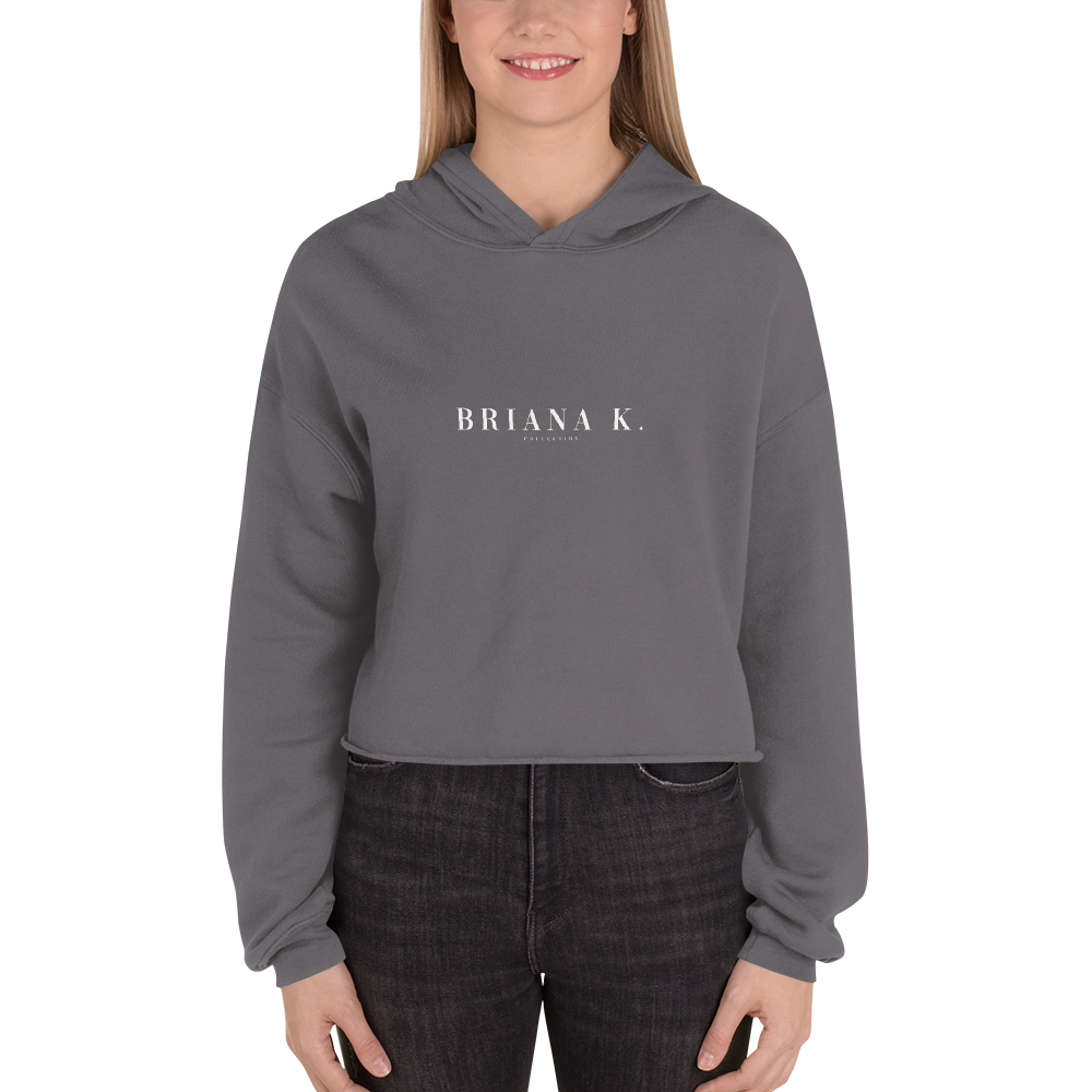 Briana K Collection Anniversary Crop Hoodie