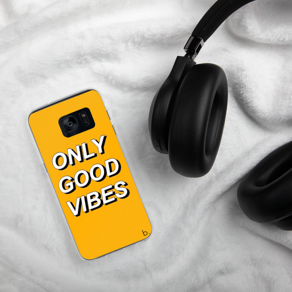Good Vibes Samsung Case