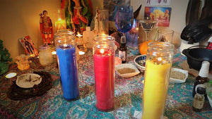 Concentration, Focus and  Clarity 3 Day Candle Service