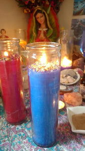 Contact Me 7 Day Candle Service