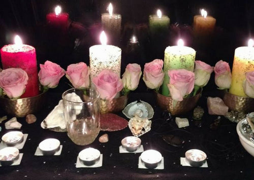 New Moon Candle Work