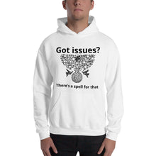 There's a SPELL for that Hooded Sweatshirt UNISEX white or grey S-5XL