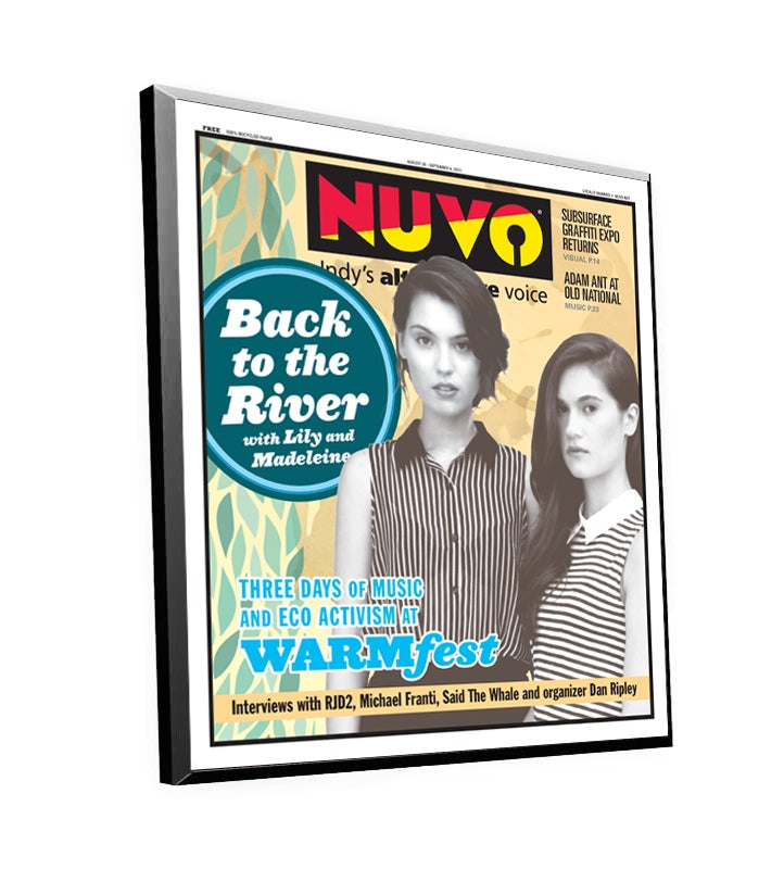 NUVO Cover Plaque by NewsKeepsake